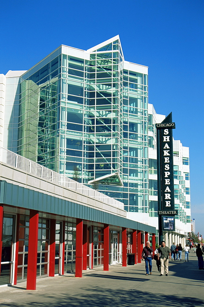 Shakespeare Theater, Navy Pier, Chicago, Illinois, United States of America, North America