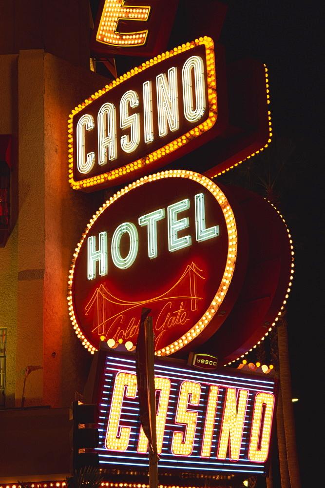 Golden Gate Casino, Fremont Street, Downtown, Las Vegas, Nevada, United States of America, North America