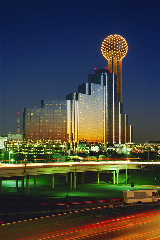 Republic Center Tower, Thanksgiving Square, Dallas, Texas, United States of America, North America