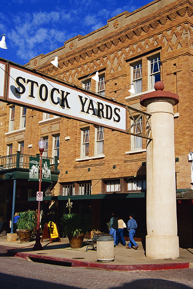 Stockyards District, Fort Worth, Texas, United States of America, North America
