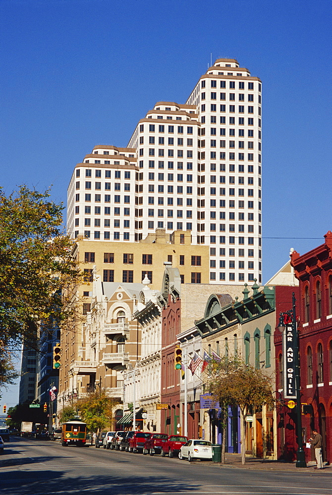 Historic Sixth Street, downtown, Austin, Texas, United States of America, North America