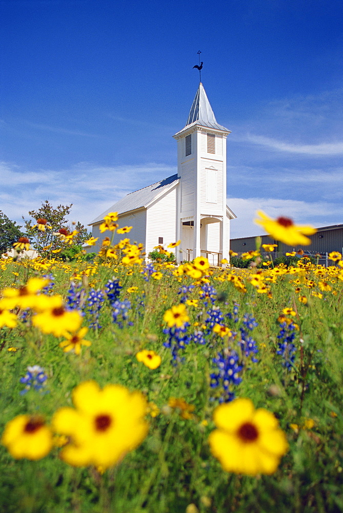 St. Martin's church, New Bruanfels, Greater San Antonio area, Texas, United States of America, North America
