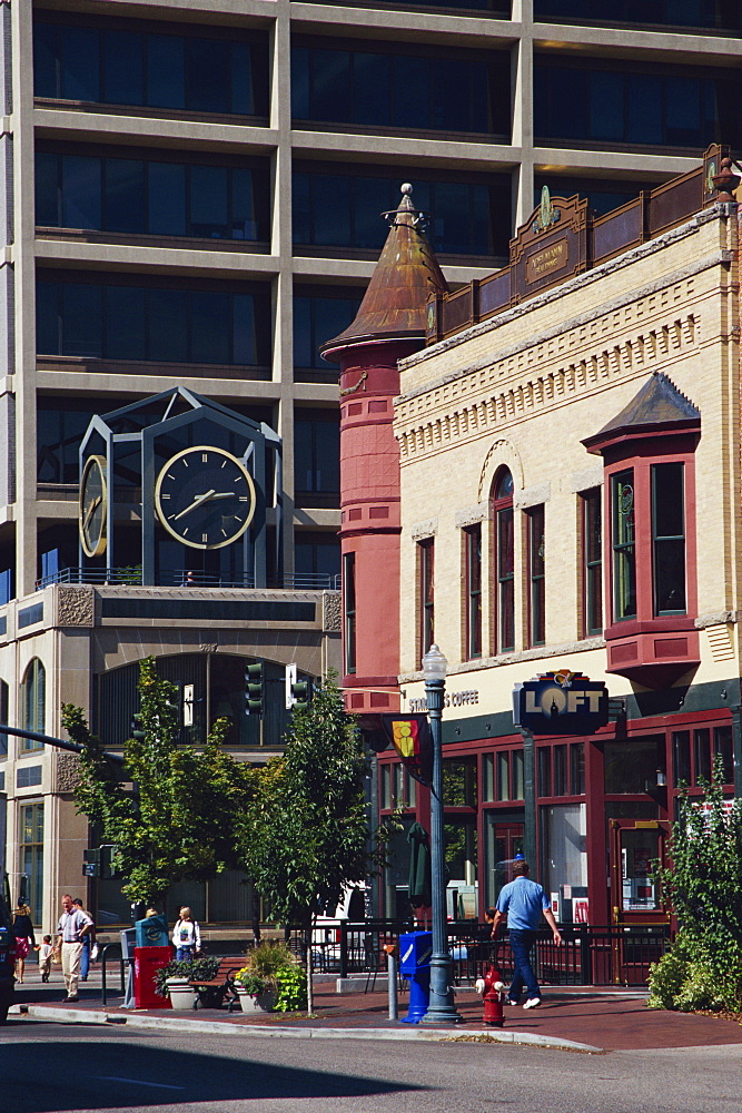 Historic Adelmann Bros. Building, Boise, Idaho, United States of America, North America