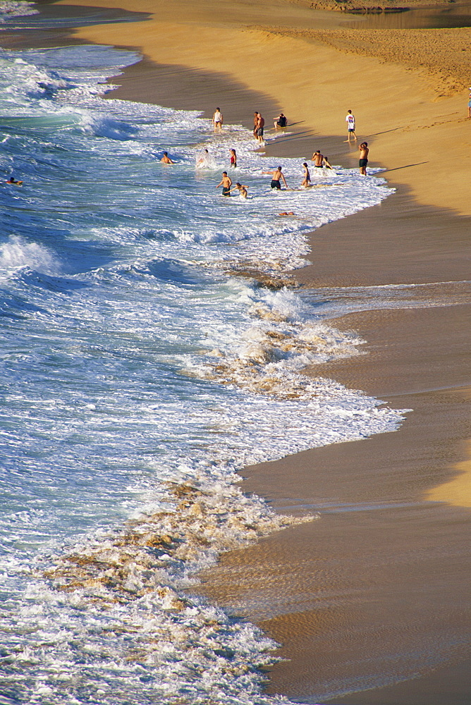 Waimea Beach, north shore, Oahu island, Hawaii, United States of America, Pacific, North America