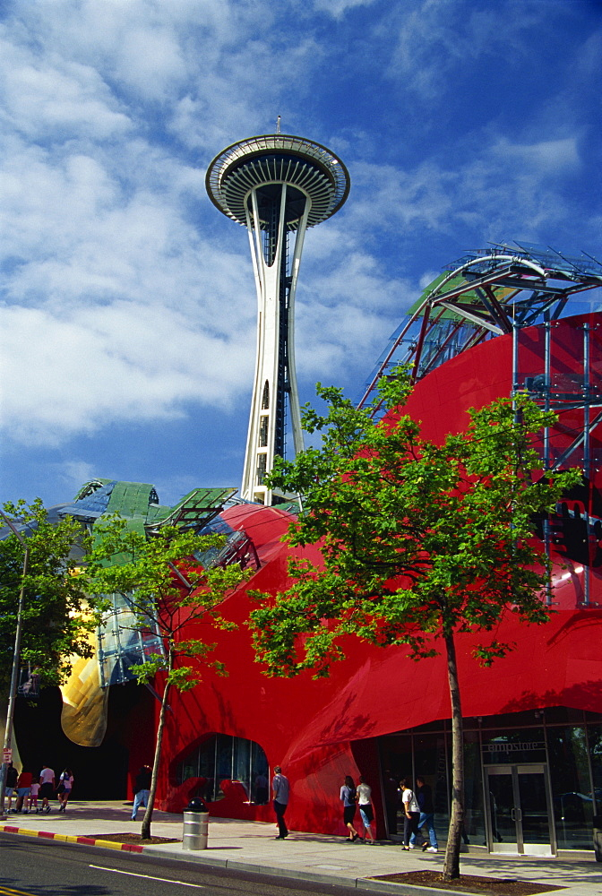 Experience Music Project Museum, Seattle Center, Seattle, Washington state, United States of America, North America