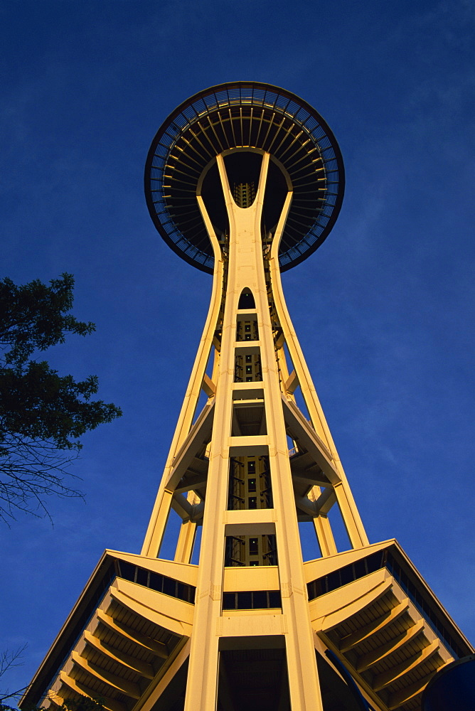 Space Needle, Seattle Center, Seattle, Washington state, United States of America, North America