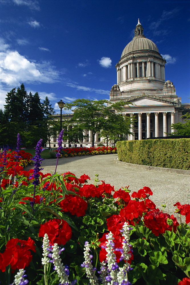 State Capitol Building, Olympia, Washington, United States of America, North America