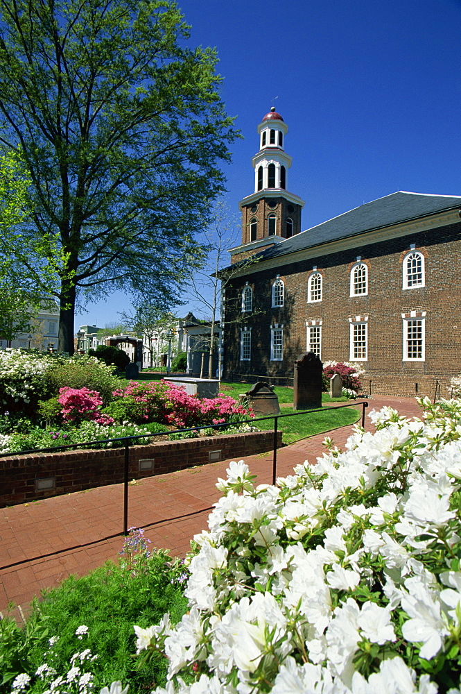 Christ Church, Old Town, Alexandria, Virginia, United States of America, North America
