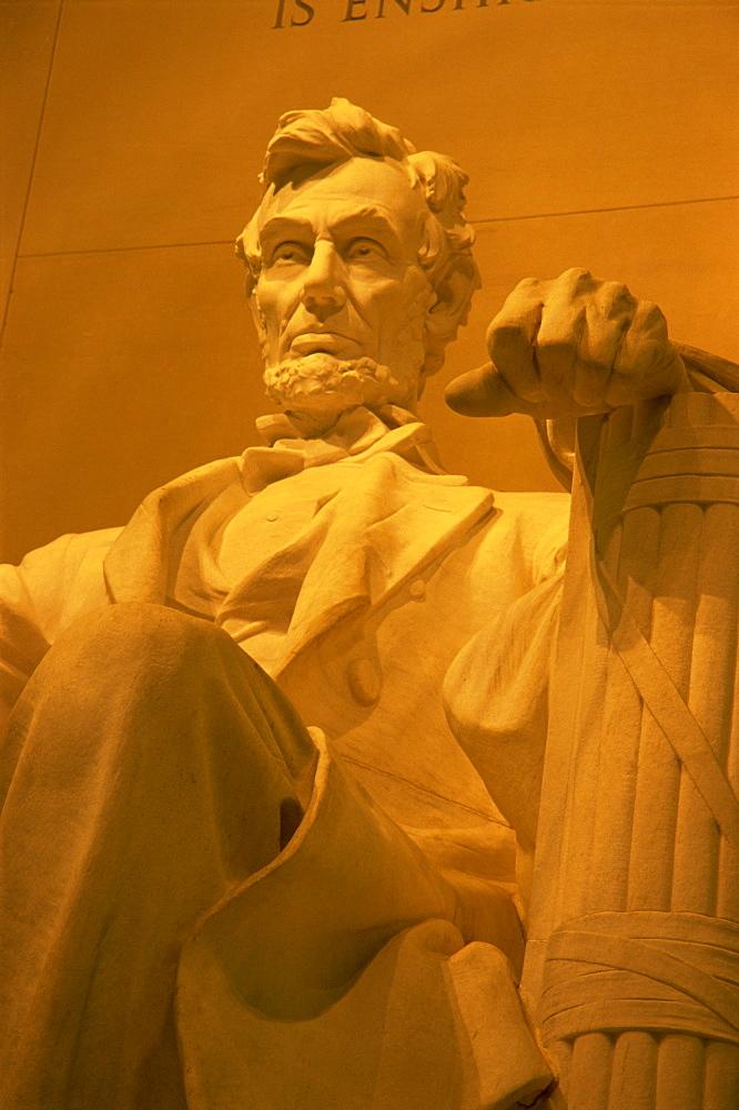 Abraham Lincoln Memorial, National Mall, Washington D.C., United States of America, North America