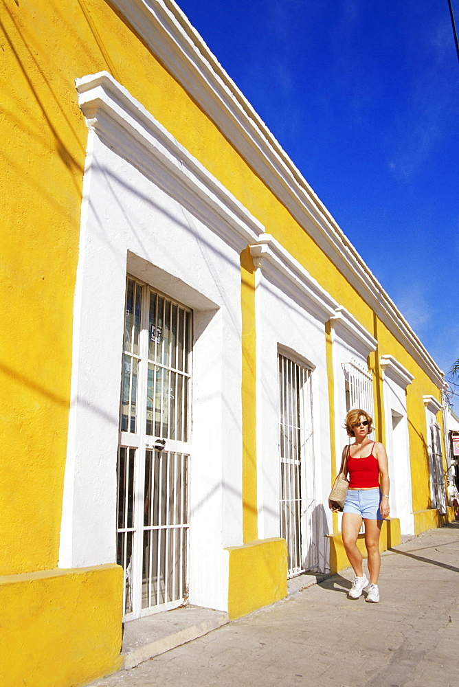 Colourful street, San Jose del Cabo, Baja California Sur, Mexico, North America