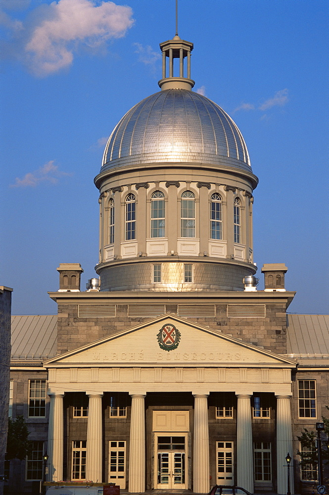 Dome, Bonsecours market, Old Town, Montreal, Quebec state, Canada, North America