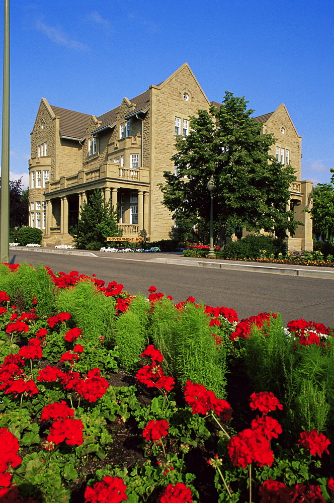 Government House, Edmonton, Alberta, Canada, North America