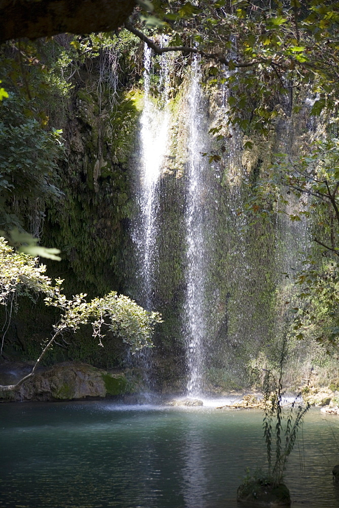 Kursunlu Waterfall, Kursunlu National Park, Antalya Region, Anatolia, Turkey, Asia Minor, Eurasia - 783-103