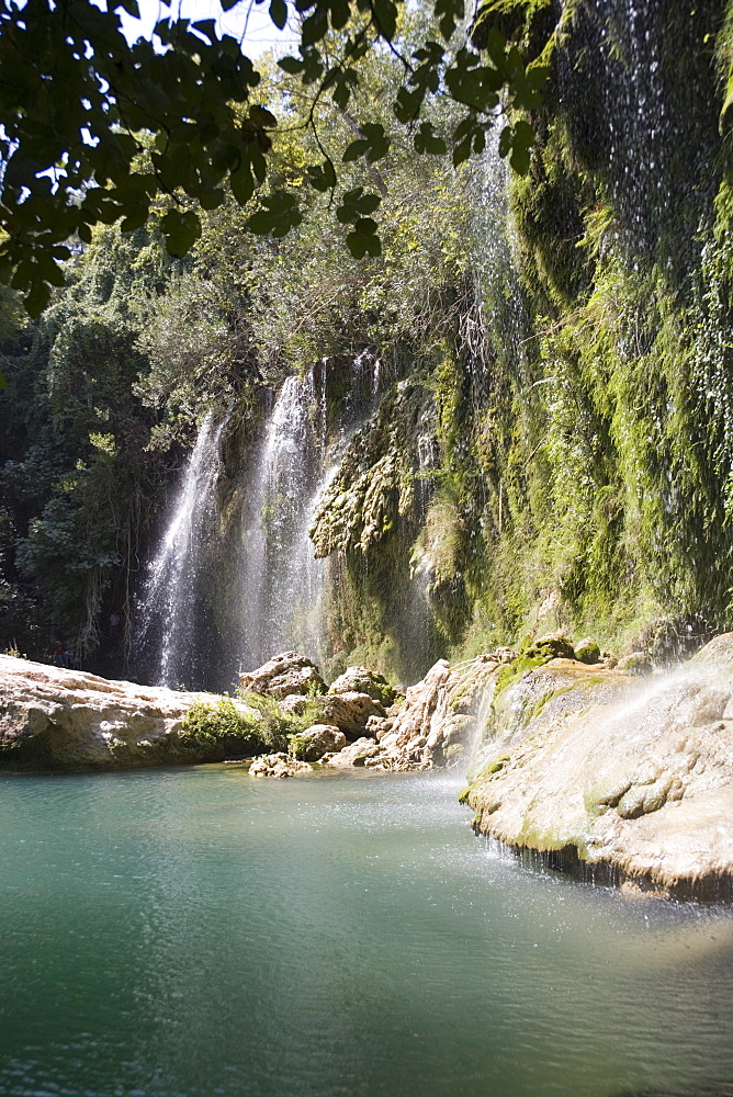 Kursunlu Waterfall, Kursunlu National Park, Antalya Region, Anatolia, Turkey, Asia Minor, Eurasia - 783-105