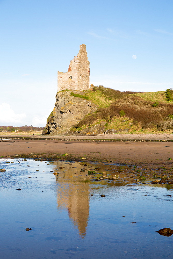Greenan Castle, Ayr, Scotland, United Kingdom, Europe - 783-137