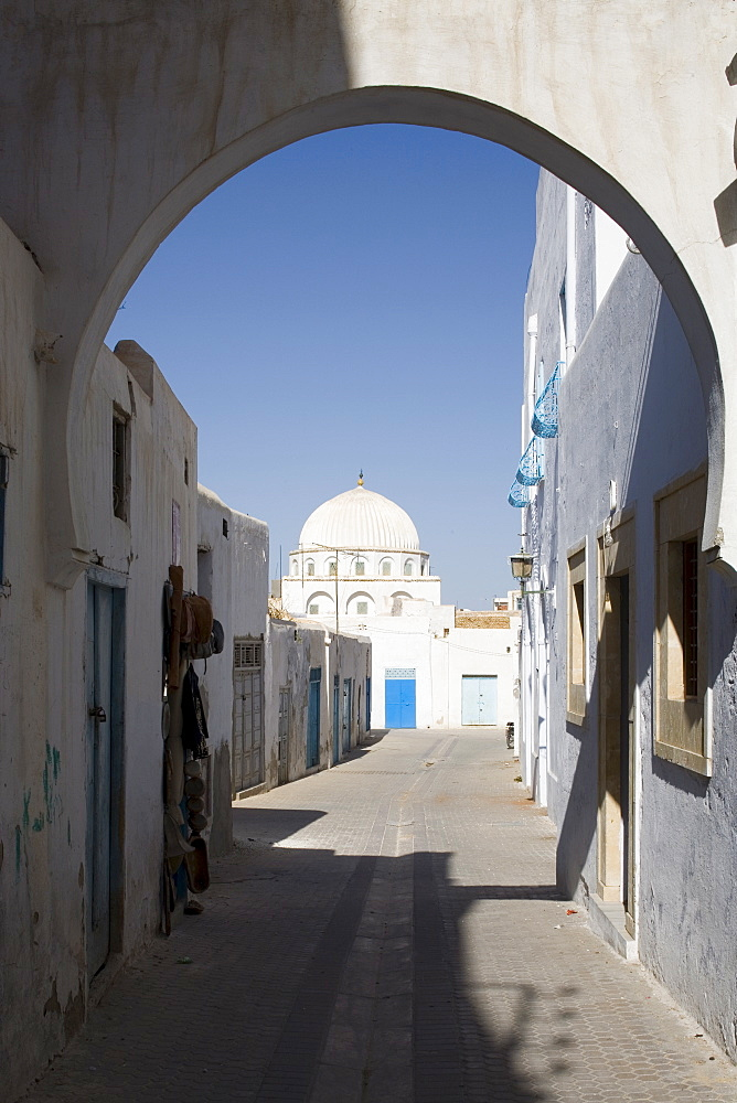 Street in the Medina, Kairouan, Tunisia, North Africa, Africa - 783-16