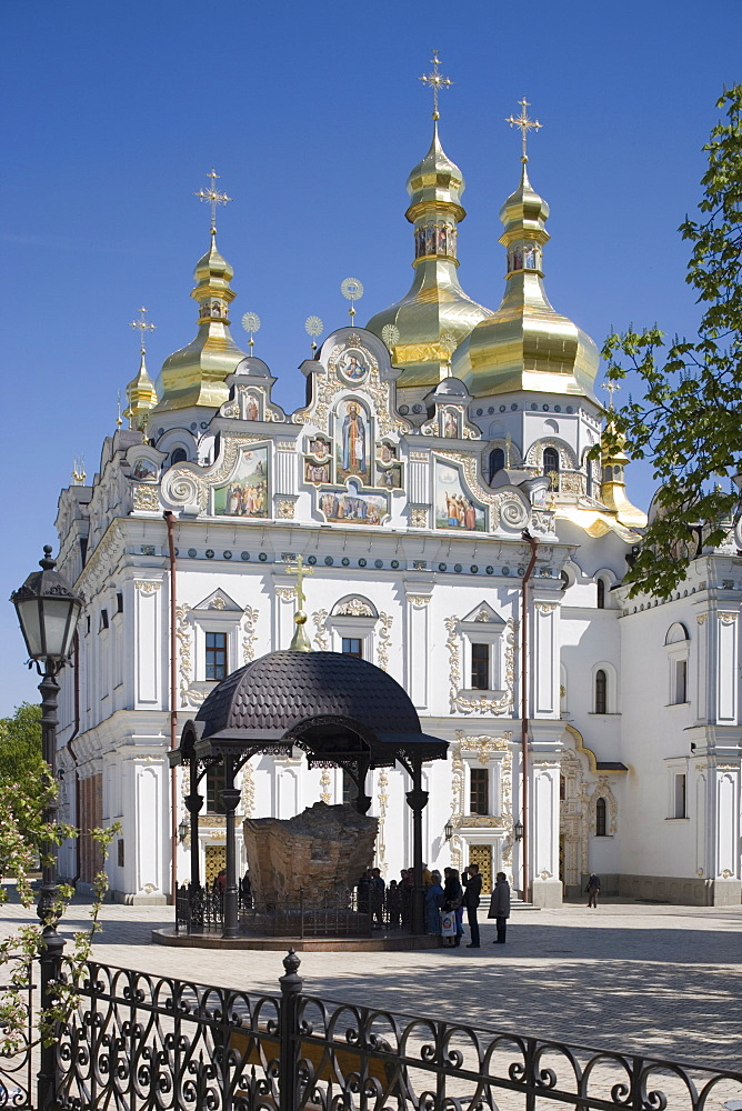 Uspensky Cathedral, Upper Lavra, Pechersk Lavra, Kiev, Ukraine, Europe - 783-40