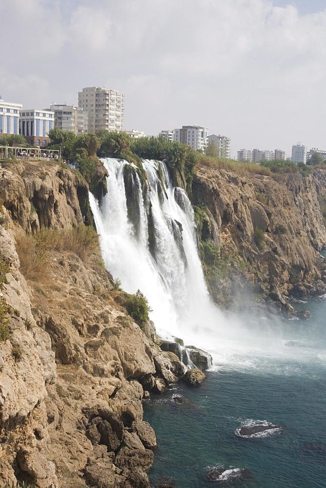 Waterfall, Duden Stream, Antalya, Anatolia, Turkey, Asia Minor, Eurasia - 783-60