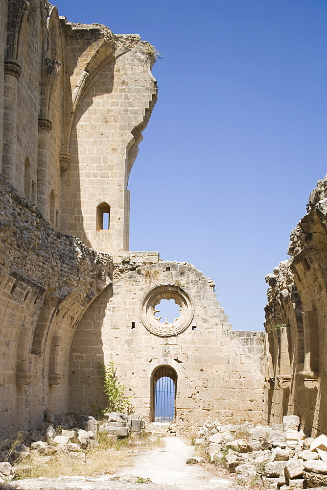 Abbey of Bellapais, North Cyprus, Europe - 783-78