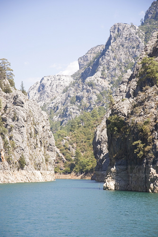 Green Canyon, Oymapinar Lake, Manavgat, Antalya region, Anatolia, Turkey, Asia Minor, Eurasia - 783-91