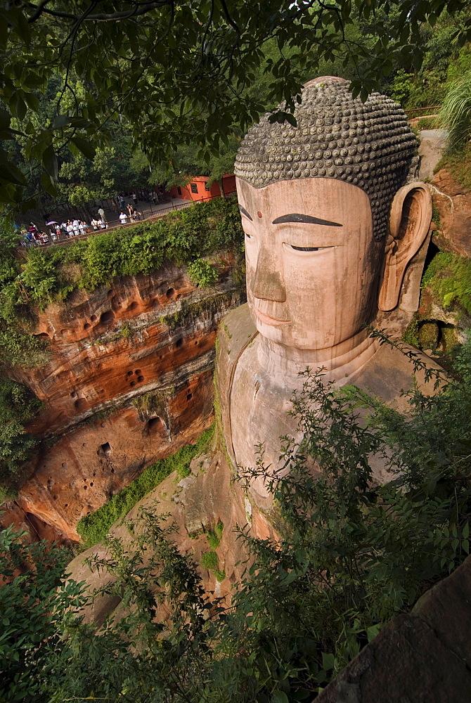 Giant Buddha, Leshan, UNESCO World Heritage Site, Sichuan, China, Asia