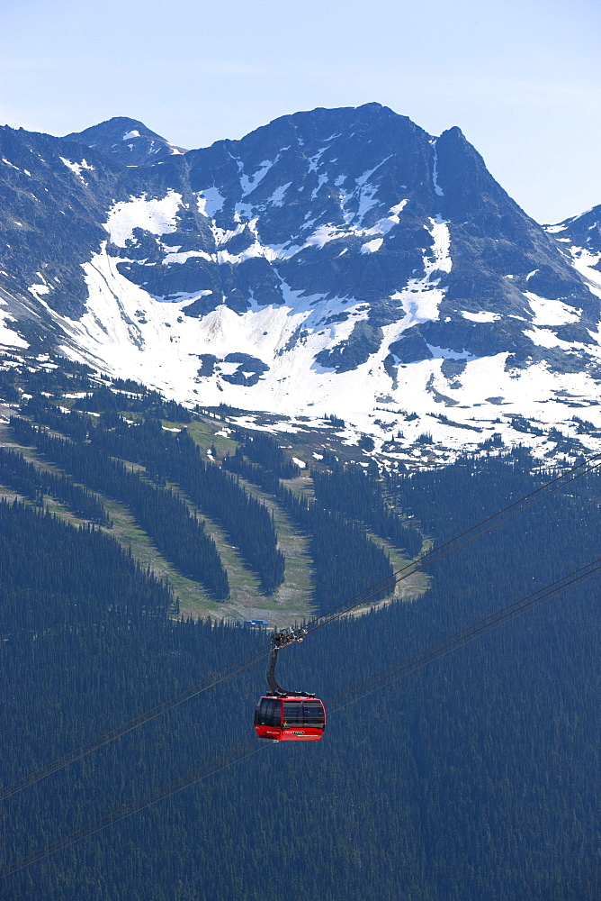 Whistler Blackcomb Peak 2 Peak Gondola, Whistler, British Columbia, Canada, North America