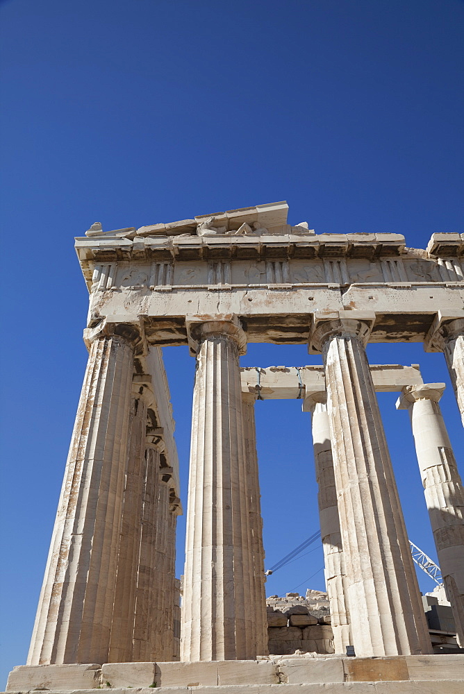 The Parthenon at the Acropolis, UNESCO World Heritage Site, Athens, Greece, Europe