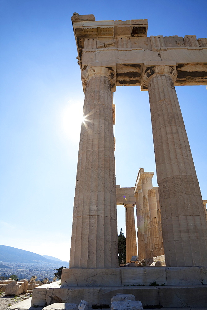 The Parthenon on the Acropolis, UNESCO World Heritage Site, Athens, Greece, Europe