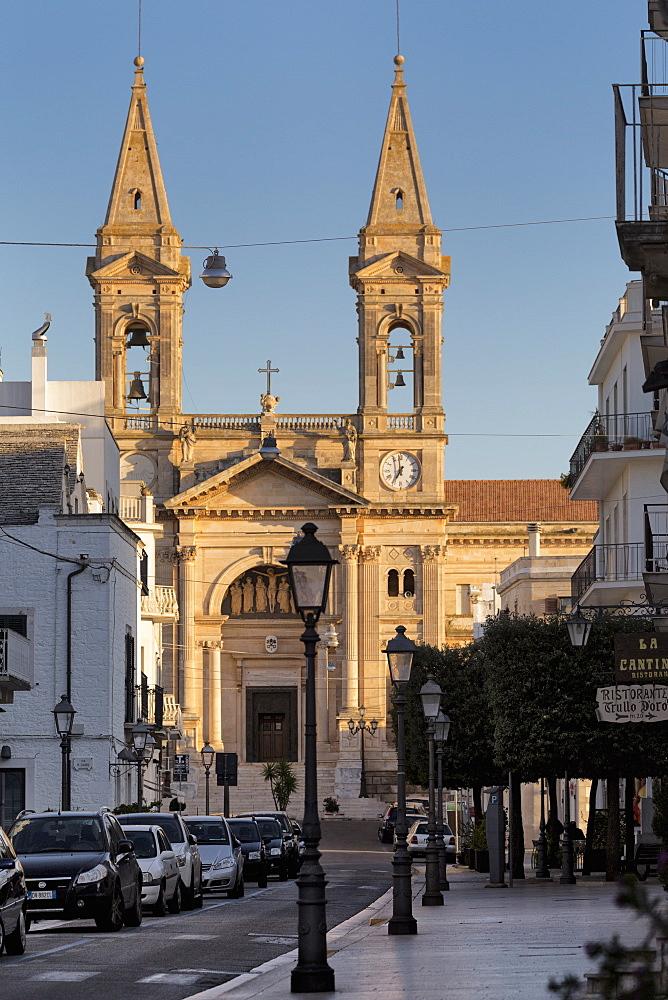 Church in Alberobello, Puglia, Italy, Europe