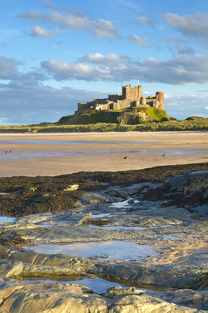Bamburgh Castle, Northumberland, England, United Kingdom, Europe - 790-1