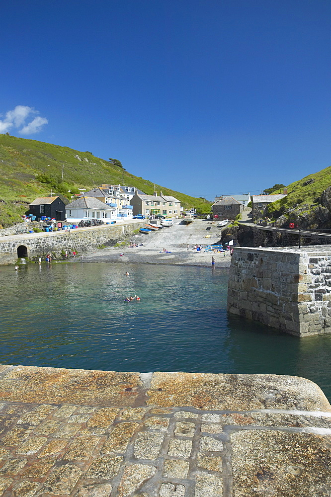 Mullion Cove, Cornwall, England, United Kingdom, Europe - 790-20