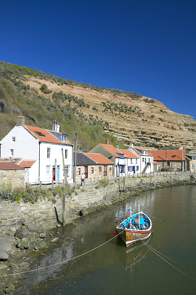 Staithes, North Yorkshire, England, United Kingdom, Europe - 790-25
