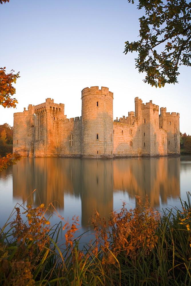 Bodiam Castle, East Sussex, England, United Kingdom, Europe - 791-21