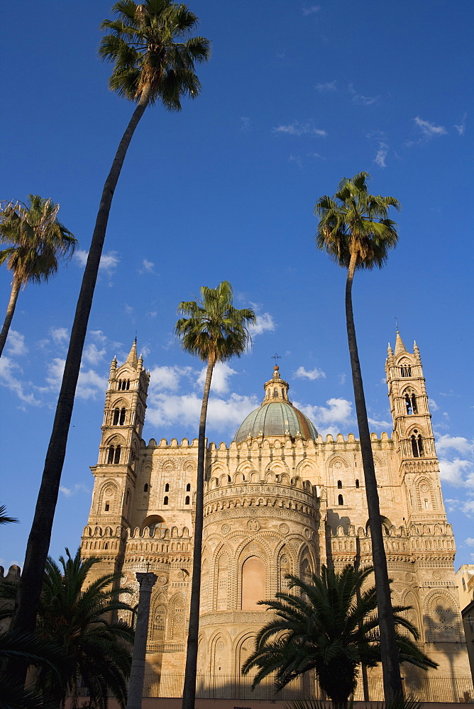 Cathedral, Palermo, Sicily, Italy, Europe - 791-9