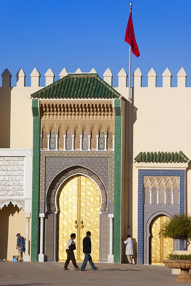 Royal Palace, Fez, Morocco, North Africa, Africa - 793-1051