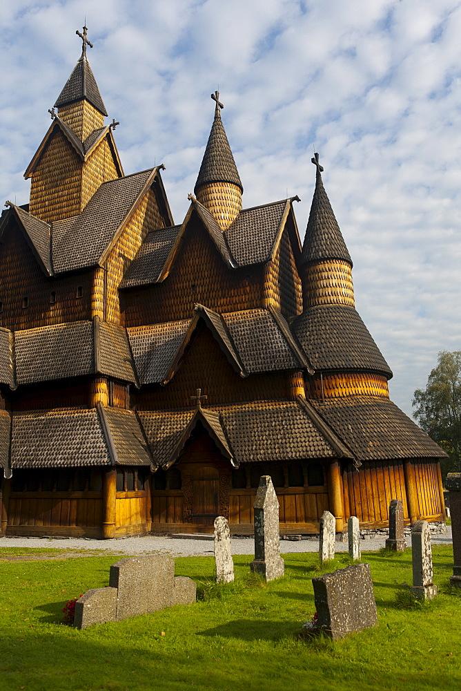 Heddal Stave church, Heddal, Norway, Scandinavia, Europe - 793-1097