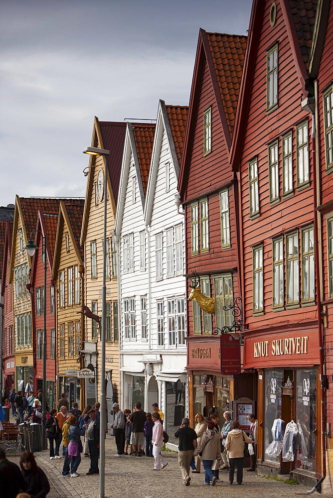 Bryggen, UNESCO World Heritage Site, Bergen, Norway, Scandinavia, Europe - 793-1116