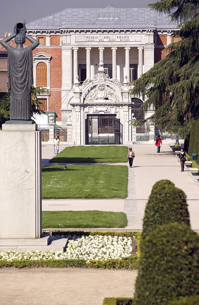Cason del Buen Retiro, Museo del Prado, Retiro Park, Madrid, Spain, Europe