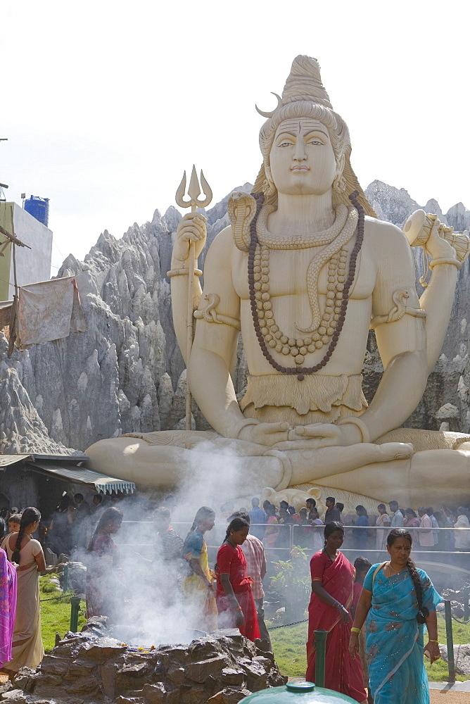 Shiva Mandir temple, Bengaluru (Bangalore), Karnataka state, India, Asia - 793-455
