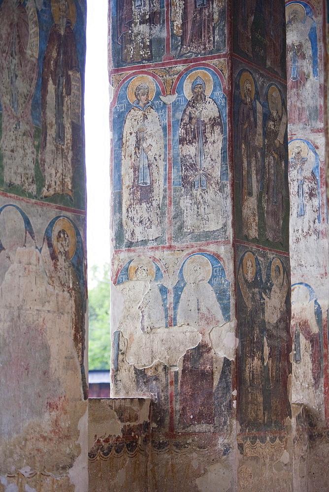 Humor Monastery, Gura Humorului, UNESCO World Heritage Site, Bucovina, Romania, Europe