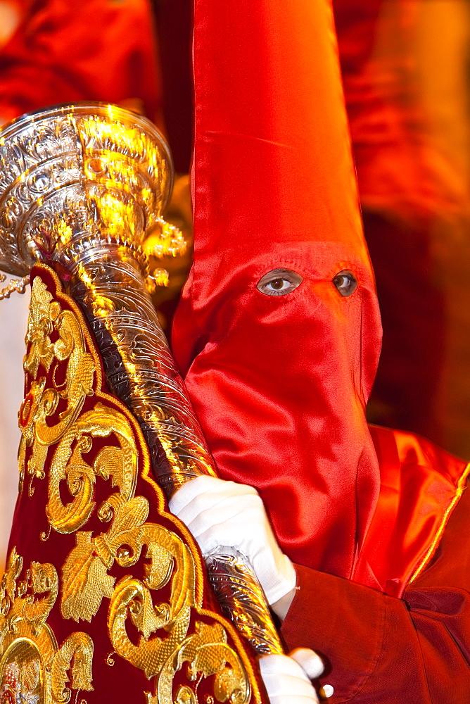 Semana Santa (Holy Week) celebrations, Malaga, Andalucia, Spain, Europe - 794-1146