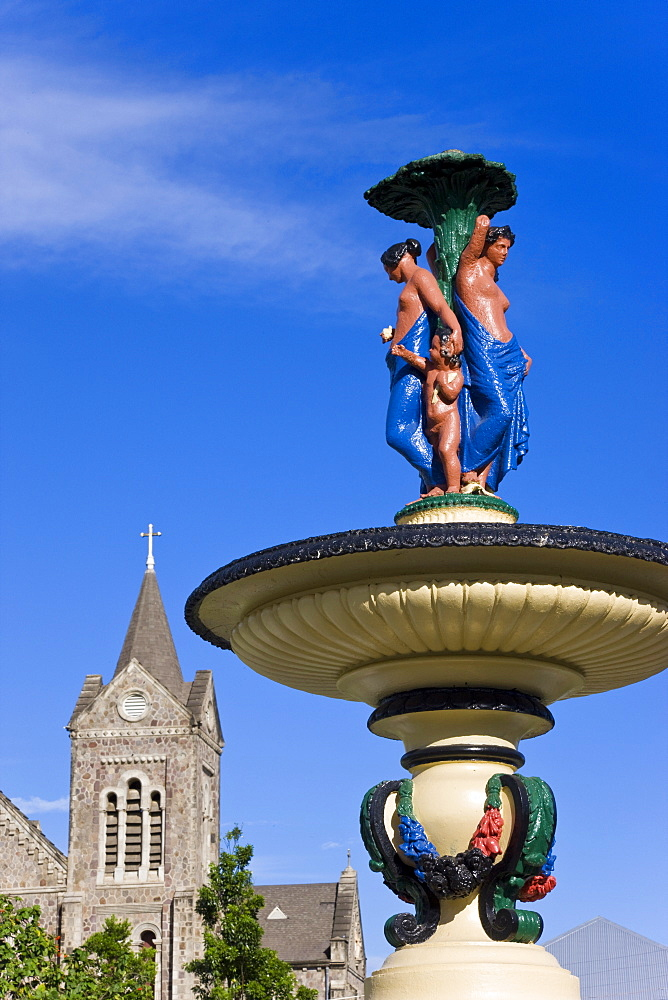 Immaculate Conception Cathedral, Basseterre, St. Kitts, Leeward Islands, West Indies, Caribbean, Central America