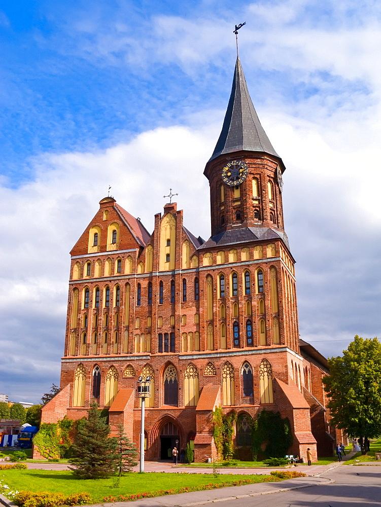 Cathedral on Kant's Island, Kaliningrad (Konigsberg), Russia, Europe