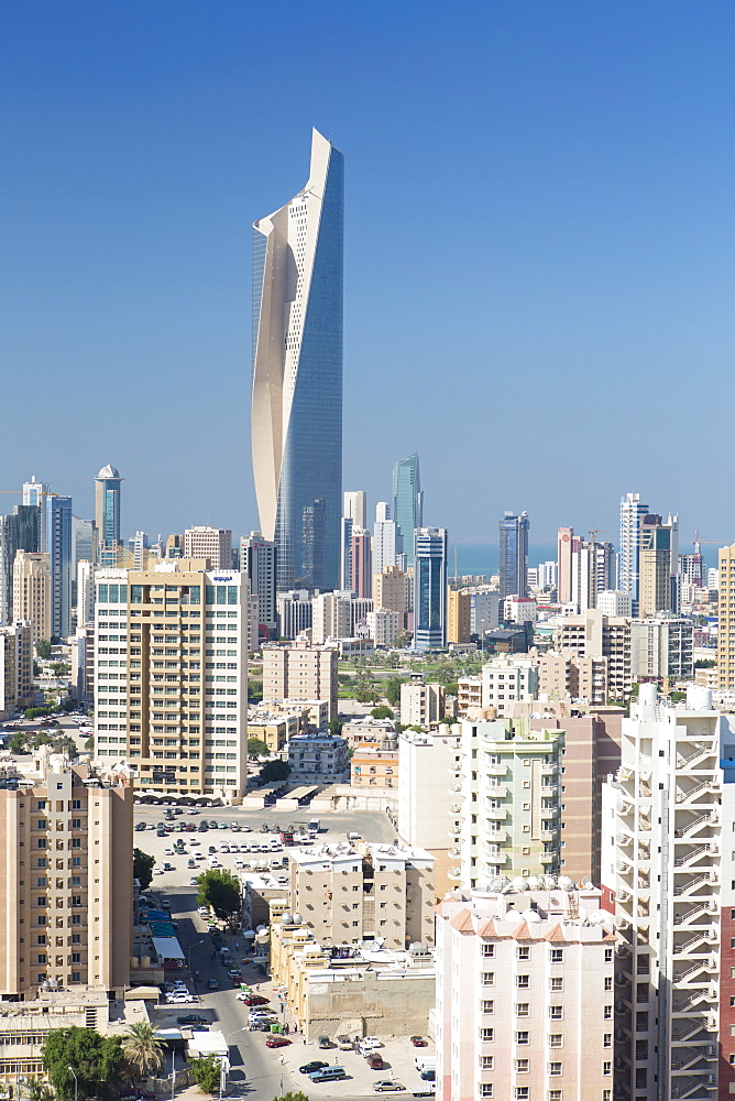 The Al Hamra building, tallest building in Kuwait completed in 2011, Kuwait City, Kuwait, Middle East