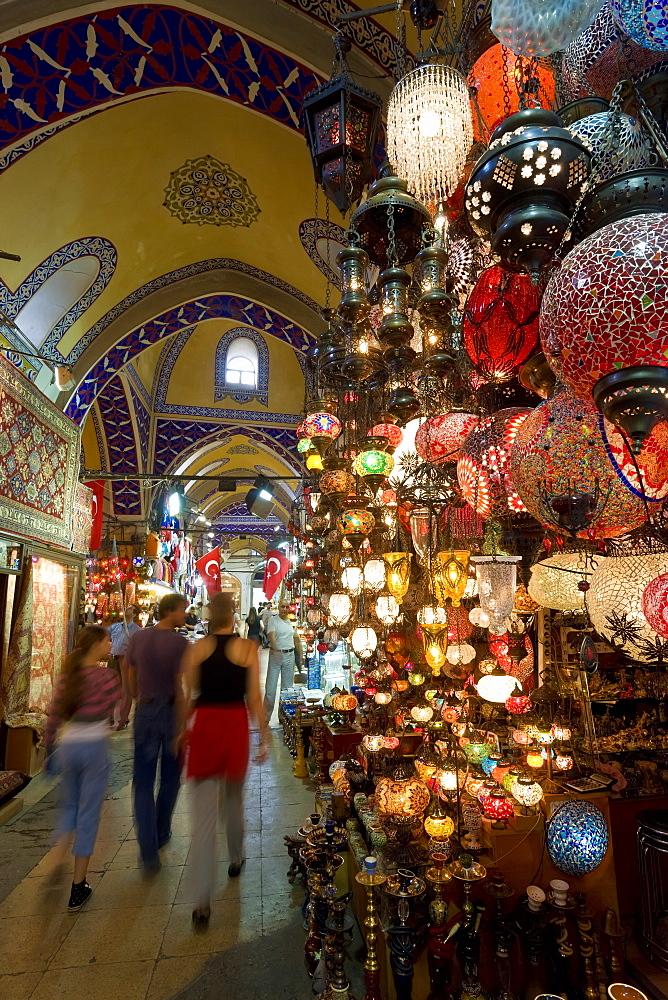 Grand Bazaar (Kapali Carsi), Istanbul, Turkey, Europe