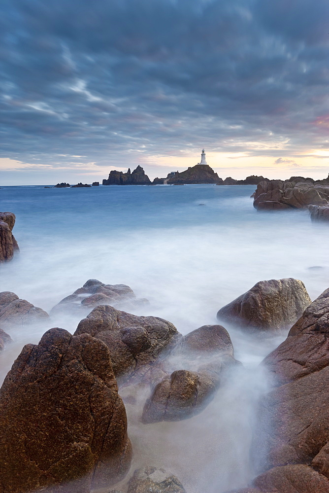 Corbiere Lighthouse, Jersey, Channel Islands, United Kingdom, Europe - 794-998
