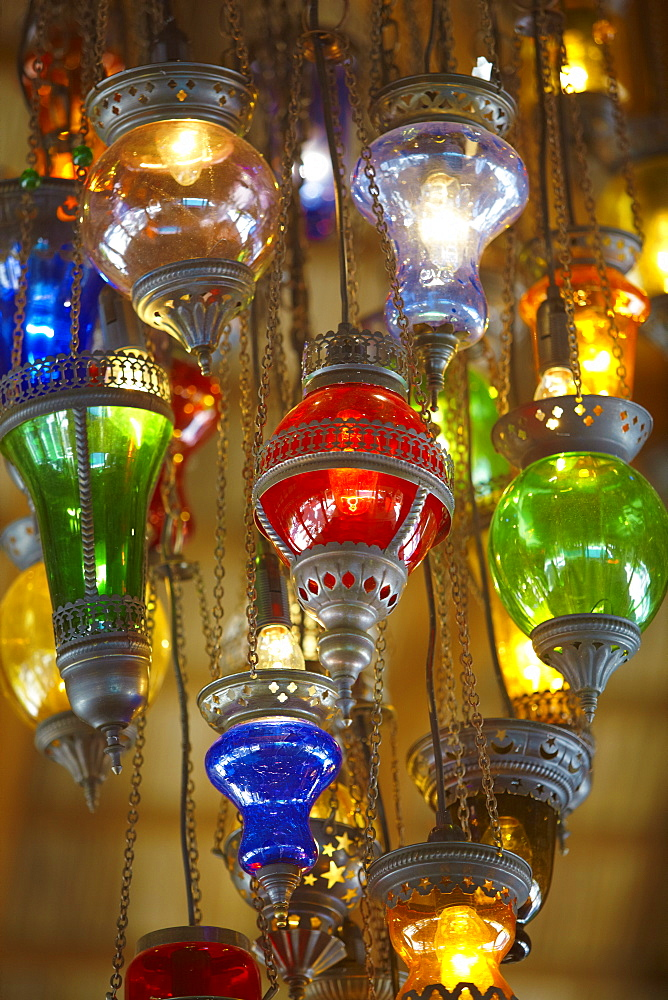 Lamps for sale, Istanbul, Turkey, Europe - 795-380