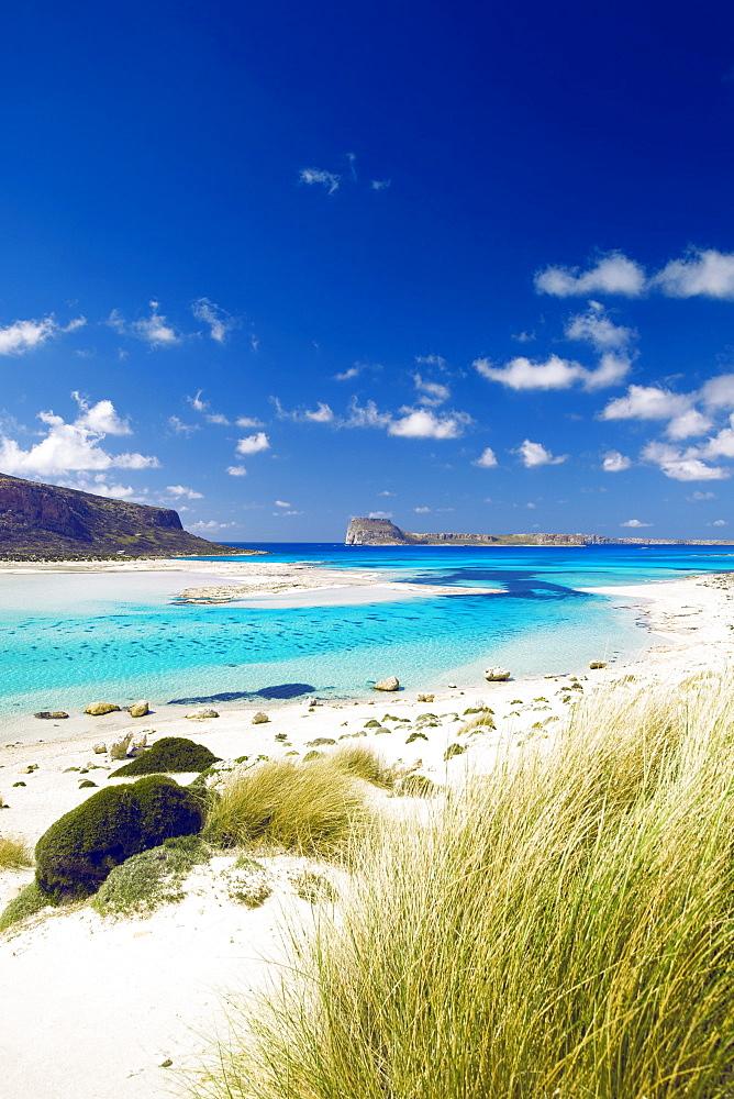 Balos Bay and Gramvousa, Chania, Crete, Greek Islands, Greece, Europe
