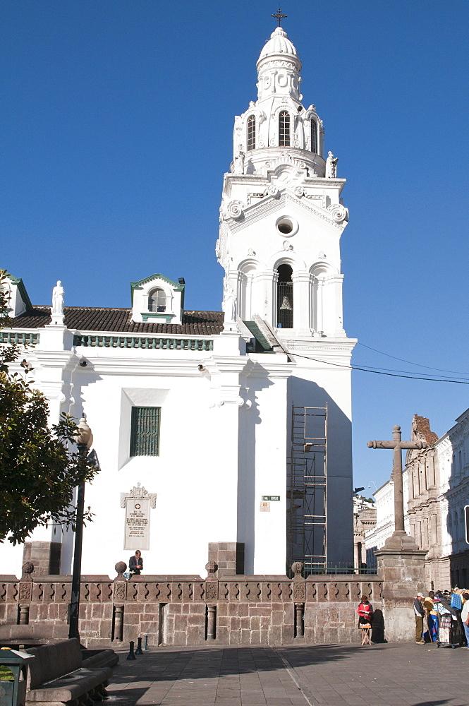 Cathedral of Quito, Plaza de Independencia, Historic Center, Quito, Ecuador, South America