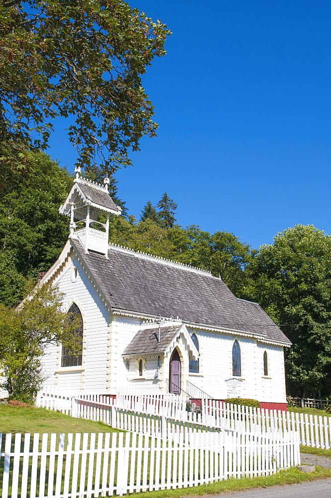 Historic Anglican Church, Alert Bay, British Columbia, Canada, North America